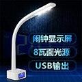 Общежитие LED настольная лампа обучения рабочий стол защиты глаз лампа спальня прикроватные чтение свет регулирования лампы, 2 шт./лот
