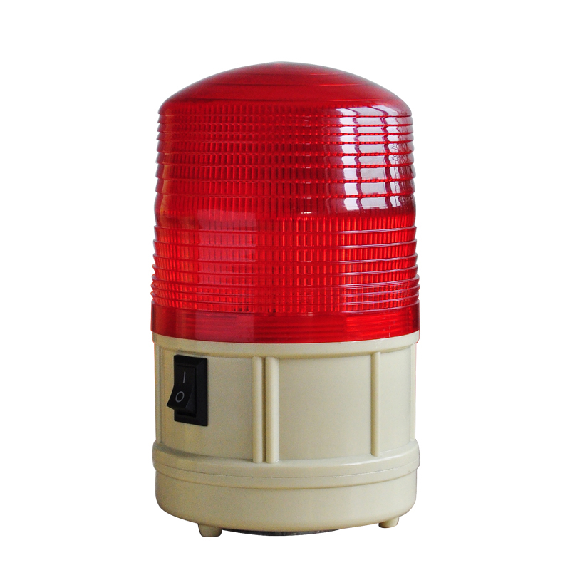 LTD-5088  Red Green Blue Yellow DC6V LED Warning Light Battery Flashing  Alarm Lighting  With Magnet Base toyl taxi cab roof light with magnetic base sign dc 12v yellow light