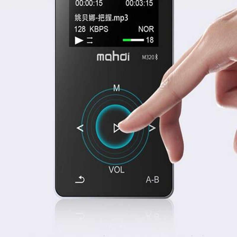 Bluetooth MP4 odtwarzacz 8 gb ekran dotykowy FM Radio odtwarzacz MP4 głośnik odtwarzacz rejestrator słuchawki metalowe słuchawki bezstratny odtwarzacz muzyki