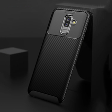 Ikrsses Case For Samsung A6 2018 Case Luxury Carbon Fiber Ultra Thin Silicone Soft TPU Case for Samsung Galaxy A6 Plus 2018 for zte blade a6 a6 lite cover ultra thin soft tpu silicone for zte blade a6 case girl patterned for zte blade a6 lite shell bag