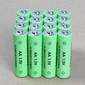 16 pçs/lote aa bateria recarregável 1.5 v alcalinas 14500 baterias recarregáveis para brinquedos mp3 bateria de controle remoto home theater