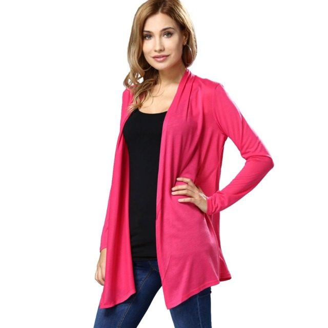 Poncho Fashion 5 Colors Women's Cardigans Shrug Sweaters Sexy ...