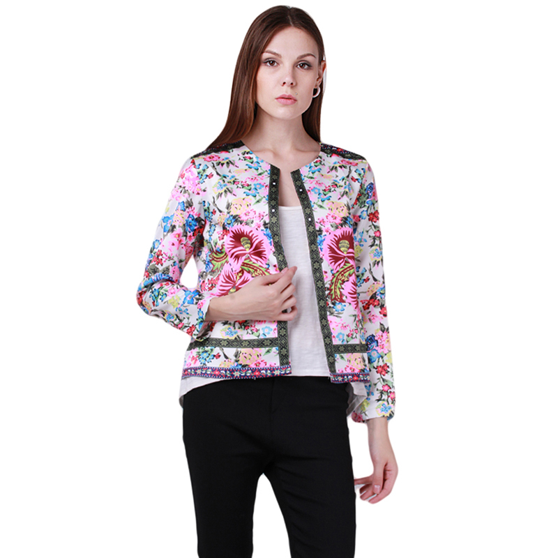 Aliexpress.com : Buy Autumn Ladies Ethnic Printed Floral ...