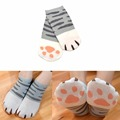 Fashion Girls Cute Cat Claw Style  Fashion Novelty Cat Claw Short Sock Atsume Cosplay Props Harajuku Cartoon Socks Women