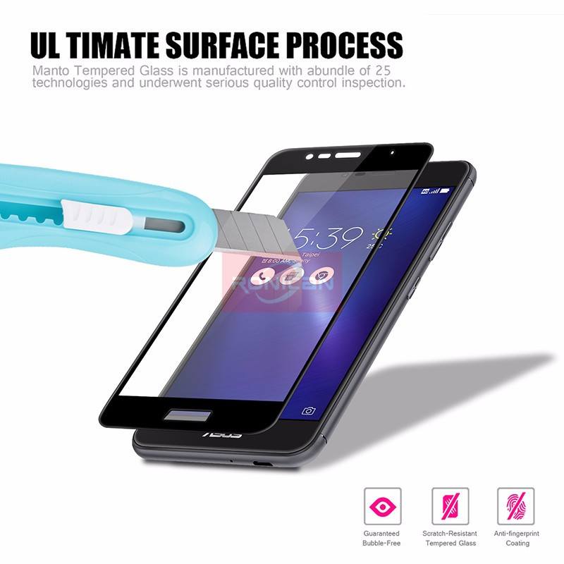 FUll Cover Tempered Glass For Asus Zenfone 3 Max ZC520TL ZB553KL ZD553KL ZC553KL ZE520KL ZE552KL Live ZB501KL Screen Protector Pakistan