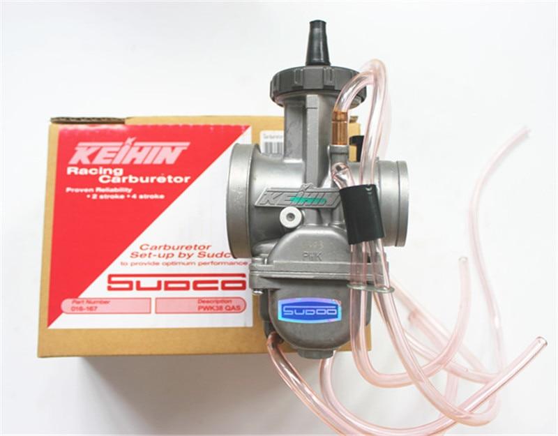 Universal Quad Vent Carb PWK 34 36 38 40mm PWK38 COMME/S66 38mm AIR ATTAQUANT pour KEIHIN CARBURATEUR POUR TRX250R CR250 LT250