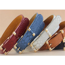 New fashion high quality Quality Guarantee Cowskin Material  Casual Occasion Belt womens designer belts 2016 Vicky