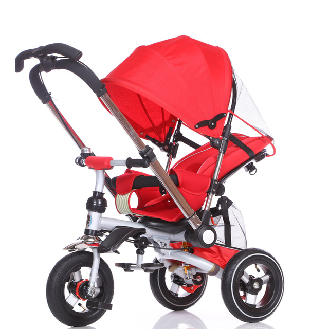Convertible Handle Baby Tricycle Stroller Riding Bicycle Car Travel System Folding Sit Flat Lying Child Trike Baby CarriageConvertible Handle Baby Tricycle Stroller Riding Bicycle Car Travel System Folding Sit Flat Lying Child Trike Baby Carriage