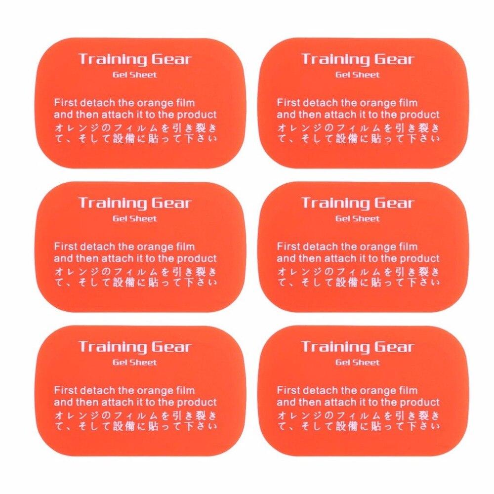 6 шт. гидрофильные клей тренировки мышц fitpad патч для похудения Тонирование Пояс здоровый школа Шестерни гель Простыни Средства ухода за кож...