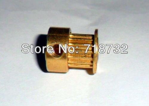 16 зубов GT2 латунь сроки шкив 6 мм ширина 5 мм Диаметр цилиндров