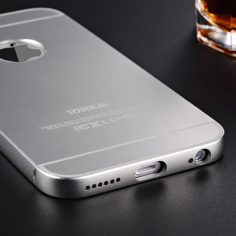 Aluminum Case For iPhone 6 6s Full Cover Luxury Metal Capinha Coque for iPhone 6 Back