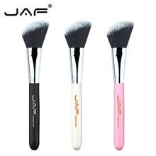 JAF Retail 1 Pcs Angled Blush Brush Synthetic Hair Face Powder Foundation Concealer Cream Blending Beveled Makeup Brush 12SSYA цена