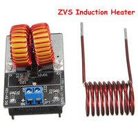5V 12V ZVS Induction Heater Low Voltage Heating Power Supply Module With Coil
