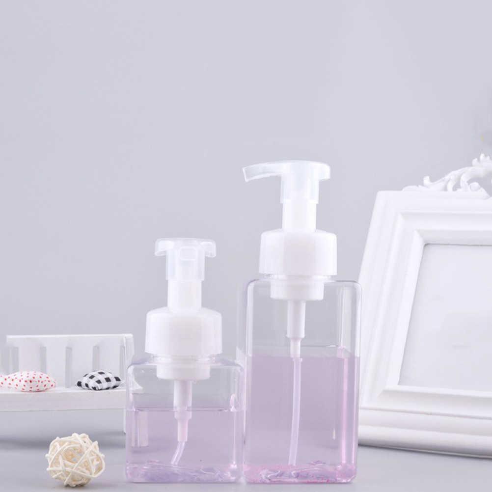 2 sztuk 450 ML piana dozowniki mydła pompy butelki łazienka kuchnia mydło w płynie butelka do przechowywania