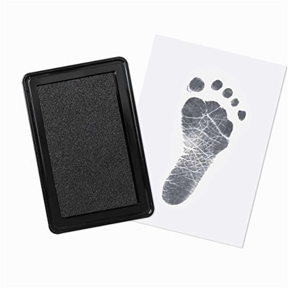 ทารกแรกเกิดทารกปลอดสารพิษ Handprint รอยเท้า Pad ปลอดภัยสะอาด Touch Pad Photo ใช้งานง่ายที่น่าจดจำของขวัญ