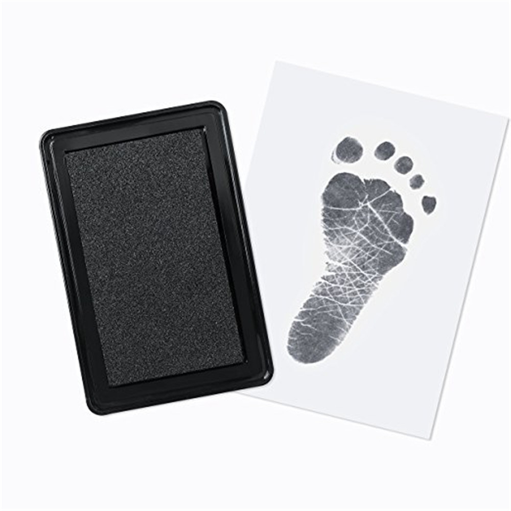 Newborn Non-Toxic Baby Handprint Footprint Pad Safe Clean Clean Touch Ink Pad Photo Easy To Operate Memorable Gifts