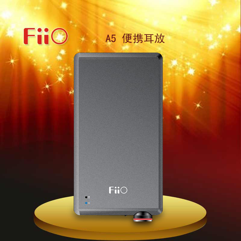 цена на Original New arrival Fiio A5 FA5121 Mini HiFi Portable Headphone Amplifier Long Battery Life Headphone AMP