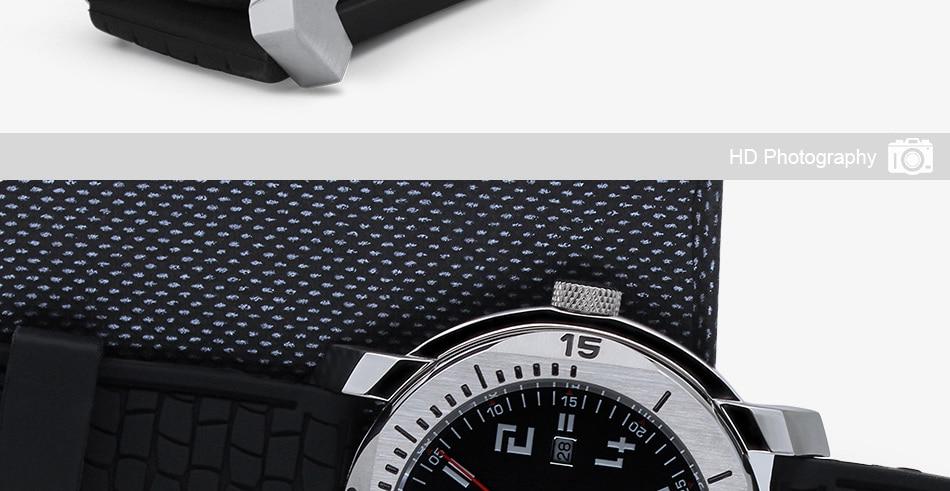 SINOBI Surfing Clock 3Bar Waterproof Watch Mens Sports Wristwatch Designer Branded Chronograph Male Spy Geneva Quartz-watch 007 27