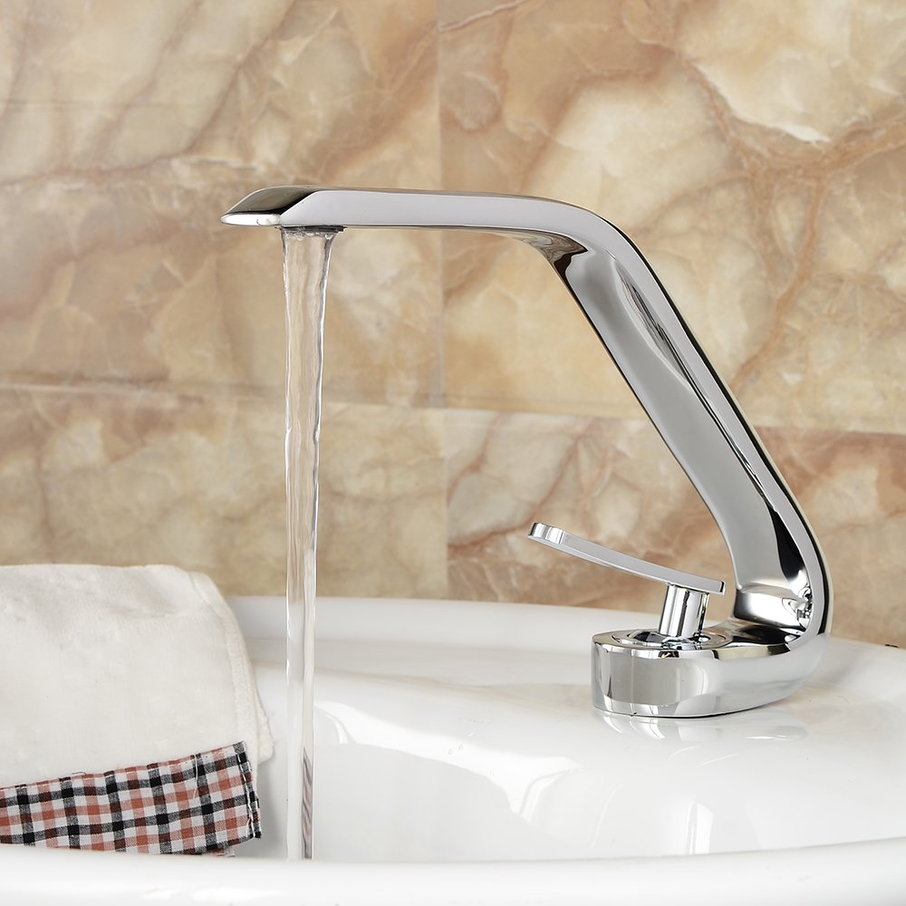 Price of a new bathroom - Becola 2016 New Bathroom Sink Basin Faucet Deck Mount Bright Chrome Washing Basin Mixer Water Taps