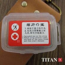 משלוח חינם טיטאן עץ ידית ישר תער פלדת להב sharp כבר