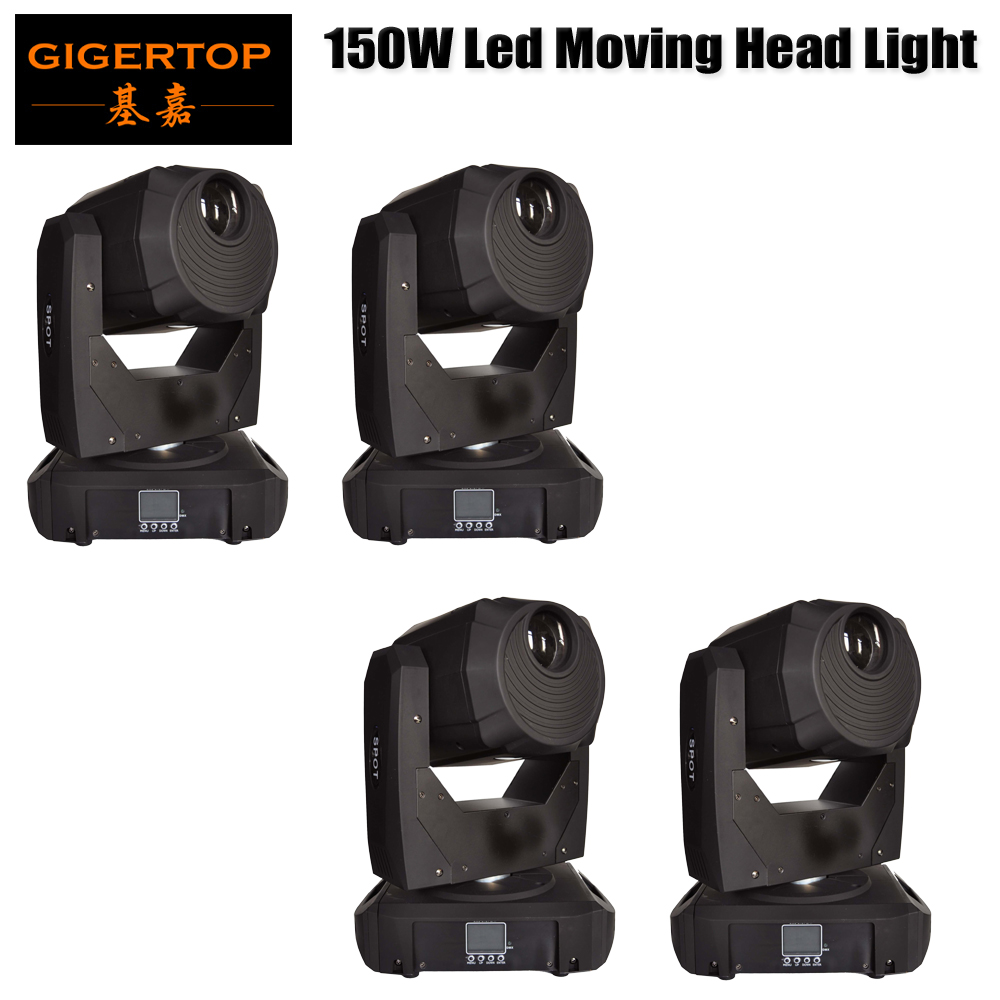 Freeshipping 4 Unit Led Moving Head Stage Light 150 Watt DMX512 Rotating Stage Effect Lamp for DJ Disco Club Party Christmas Led dr512 dr 512 dr 512 drum cartridge for konica minolta bizhub c364 c284 c224 c454 c554 image unit with chip and opc