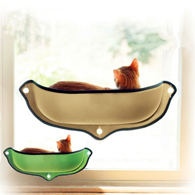 Cat Hammock Bed Window Pod Lounger Suction Cups Warm Bed For Pet Cat Rest House Soft And Comfortable Ferret Cage Shop