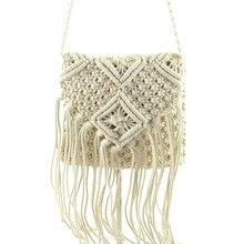 2016 frischen Mode-Design Frauen Messenger Bags Stricken Umhängetasche Frauen Handtaschen und Geldbörsen Dame Strand Handtaschen T396