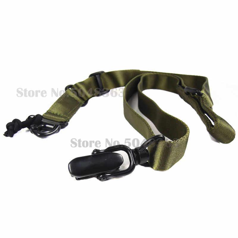 Hoge Kwaliteit Verstelbare Tactical Multi-mission Rifle Sling Gun Strap System Mount Set Geschikt Ms2 Militaire Pistool Band