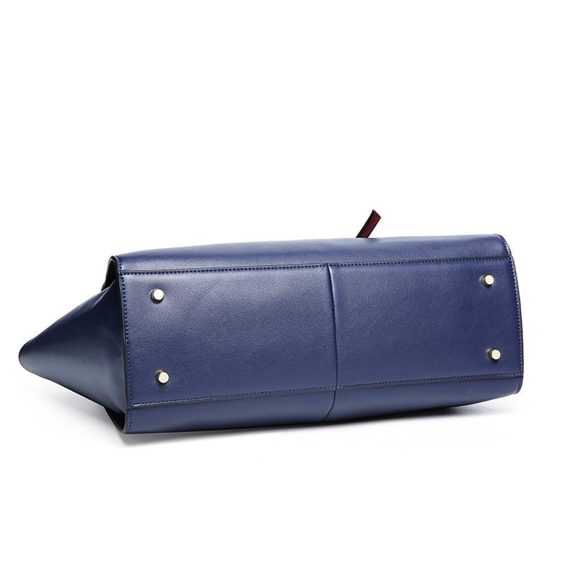Bagaj ve Çantalar'ten Omuz Çantaları'de Nesitu Yüksek Kalite Büyük Kapasiteli Moda Mavi Kırmızı Siyah Bölünmüş Deri Kadın Çanta Bayan omuz çantaları Kadın Kılıf M1022'da  Grup 3