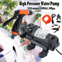 12V 160Psi High Pressure Diaphragm Self Priming Water Pump 6.5Lpm 100W Electric Car Washing Machine Car Washer for Gun pump