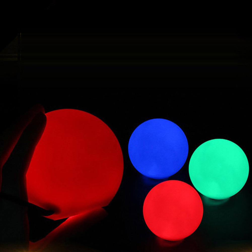 Luminescent Throwing Ball Multi Color Light Juggling Thrown Balls Dancing Props