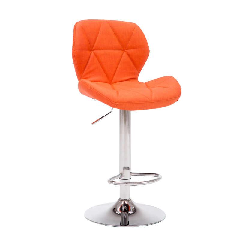 Барные стулья, барные стулья, вращающийся подъемный стул, высокий стул, домашние креативные красивые круглый стул, стильный минималистичный поворотный стул