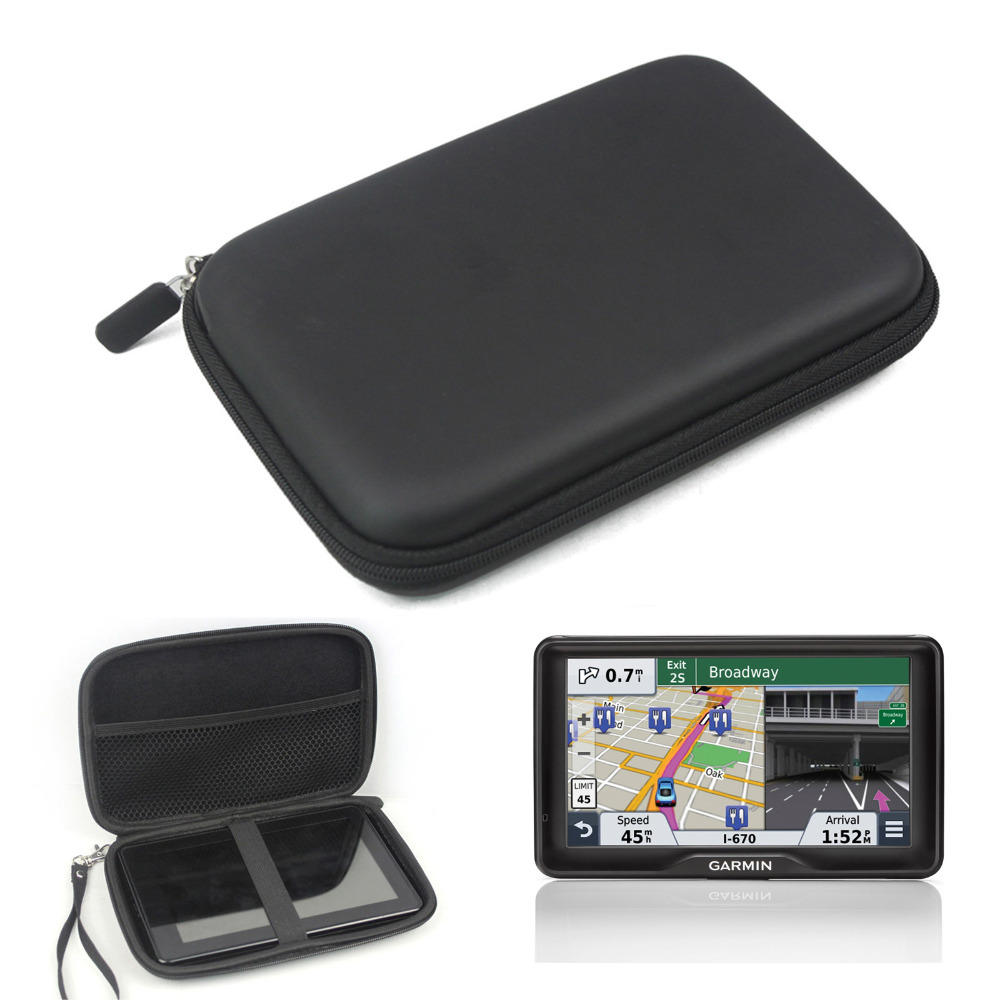 Garmin approach g5 gps review - 7 Inch Hard Outdoor Traveling Protect Case Bag Portable Bag Cover For 6 7 Garmin Nuvi Kindle Fire Magellan Gps Navigator
