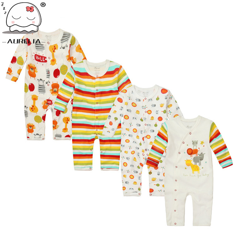 Moms care Cartoon Cotton Baby Rompers Autumn LongSleeve Baby Wear Infant Jumpsuit Boys Girls Clothes Roupas De Bebe Infantil newborn baby rompers baby clothing 100% cotton infant jumpsuit ropa bebe long sleeve girl boys rompers costumes baby romper