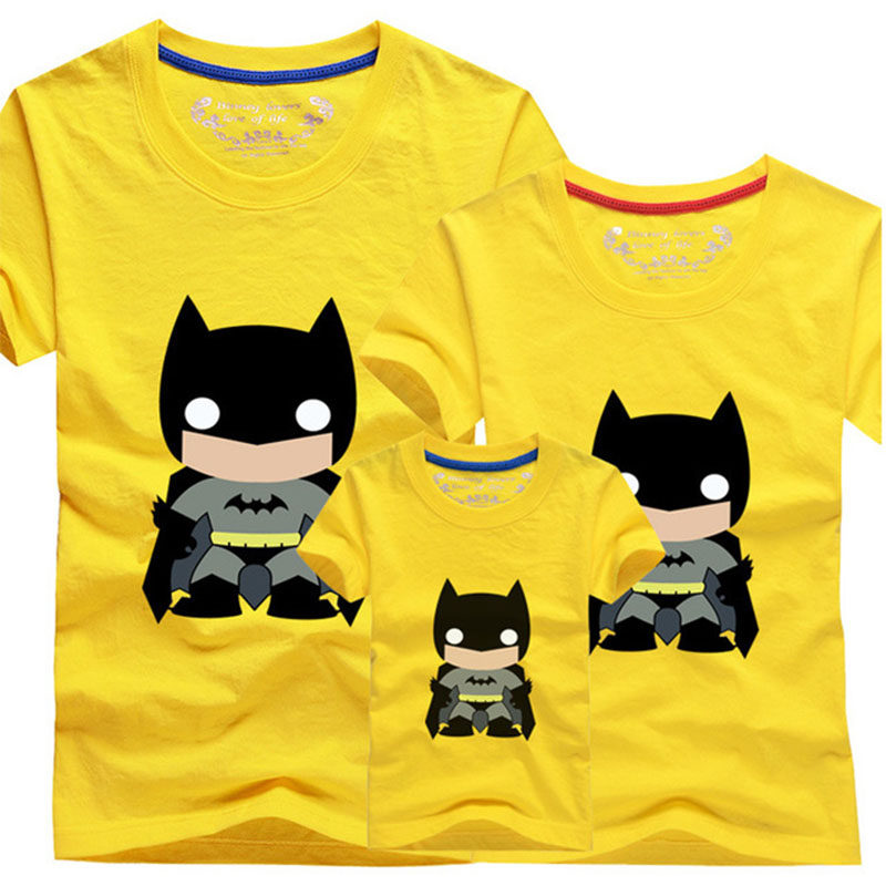 T Shirts family clothing Family Look Batman Summer Family ...