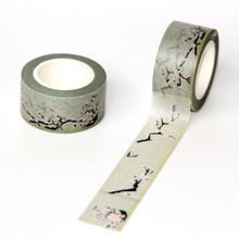 1pcs free shipping 20mm*10m decorative adhesive tape stickers for scrapbooking