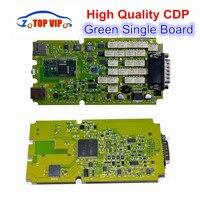 3pcs Lot DHL Free Green Single Board CDP PRO A Quality OBD2 Diagnostic Tool NEW VCI
