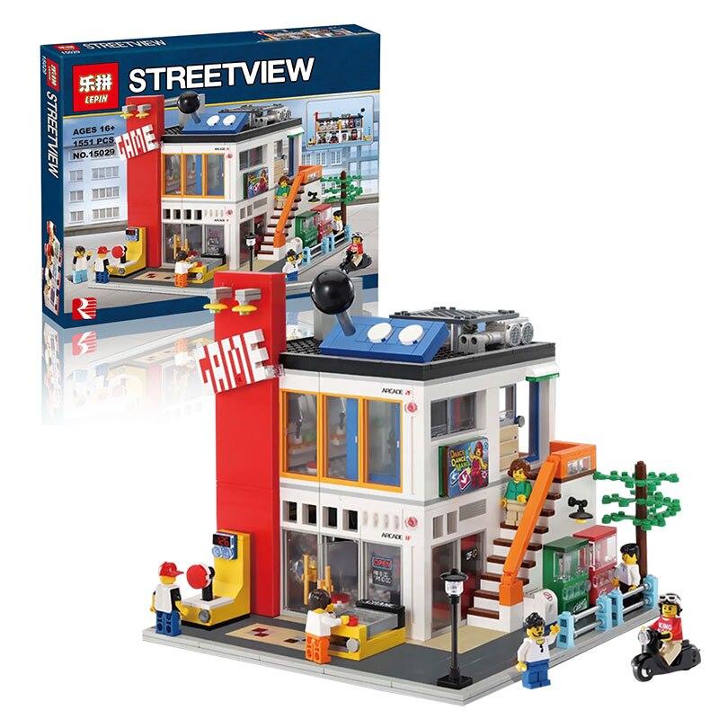ФОТО Lepin 15029 Creator Series The Cool Children Gaming Room Korean R US Building Blocks Bricks Toys