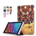 Imán inteligente ultrafino pu funda de piel cubierta para Huawei MediaPad M2 M2-801W M2-803L Huawei M2 8.0 tableta + protector de pantalla