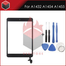 6Pcs Nieuwe A1432 A1454 A1455 touch Screen 7.9 ''Black/Wit Voor iPad mini 1 touch screen panel Display vervanging met gereedschap(China)
