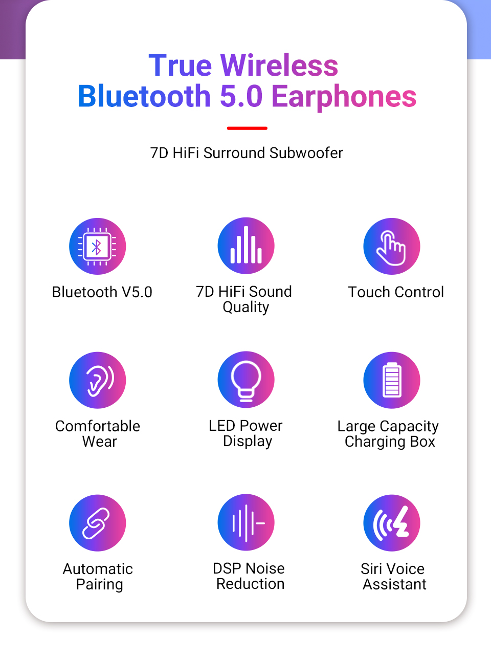 TWS wireless earphone bluetooth (2)