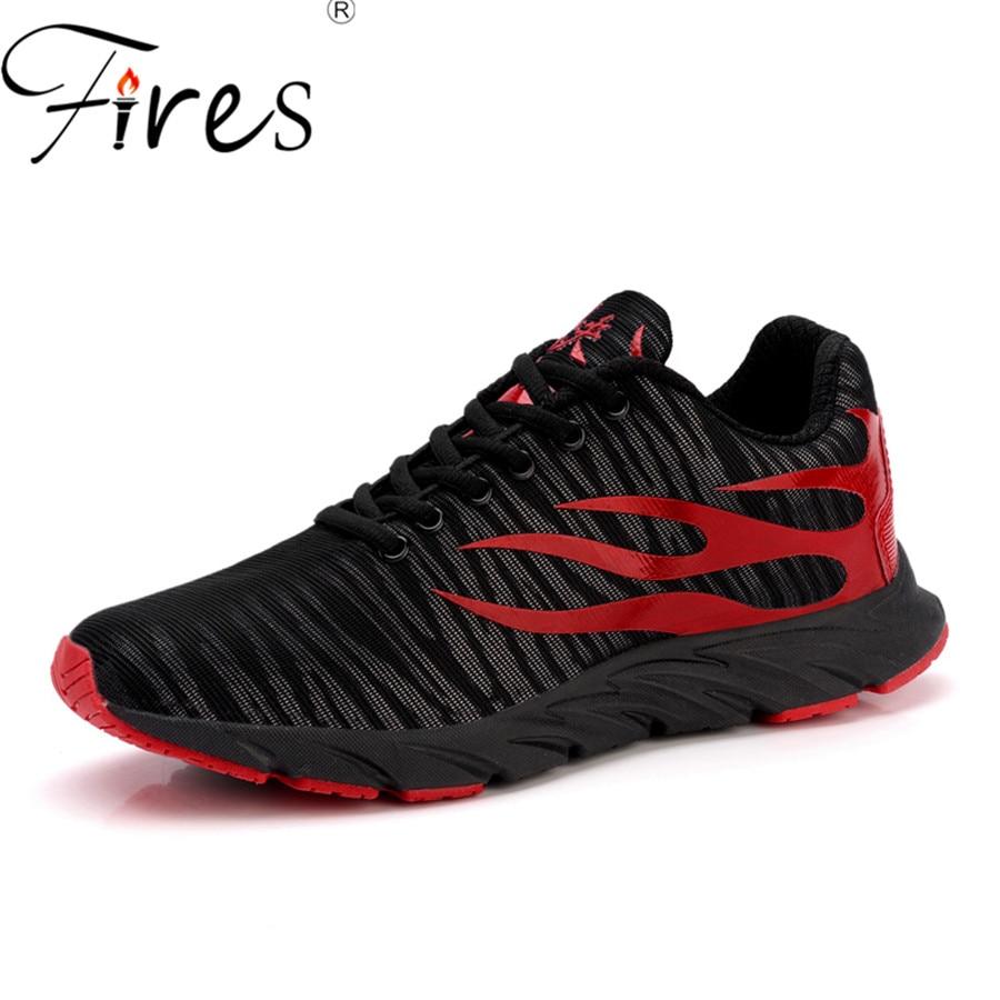 Incendies Hommes Chaussures de Course D'été Respirant Sports de Plein  Air Chaussures