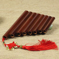 Bamboo 8 pipes pan flute panpipes musical instrument paternity aids xiao