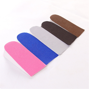 1 Pair Shoe Insoles Breathable Half Insole Heighten Heel Insert Sports Shoes Pad Cushion Unisex 1-3cm Height Increase Insoles
