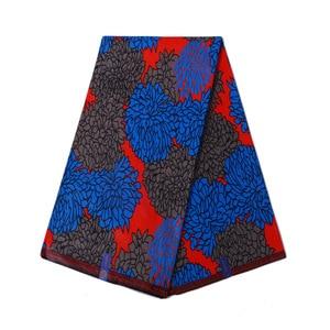 Image 4 - Royal Real Cloth Wax Tissu 100% Cotton High Quality Africa Ankara Prints Batik Fabric Sewing Material For Wedding Dress 6yards