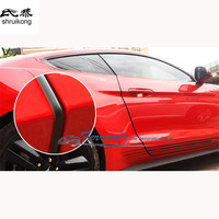 Free shipping car styling sticker AREX door protection BUMPER STRIP 5 meters long Car accessories for 2015 2016 new ford mustang