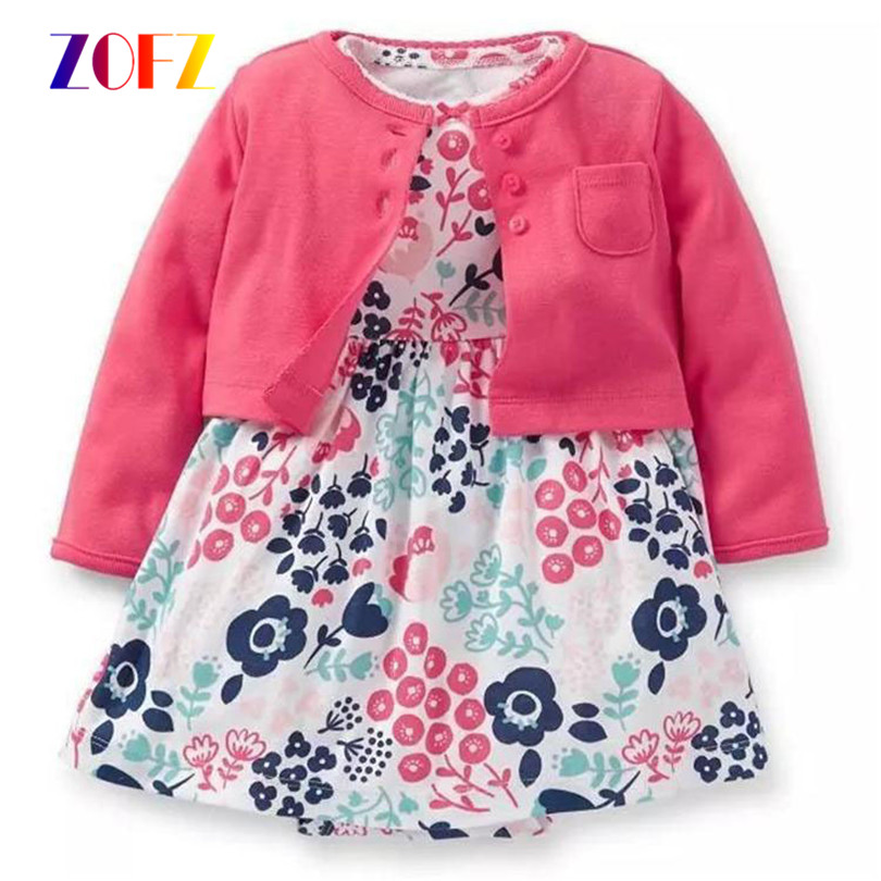 ZOFZ-New-Baby-Girl-Dress-Regular-O-Neck-2pcs-Dresses-for-Girls-Cotton-Floral-Dresses-with-Long-Sleeve-Cardigan-Baby-Girl-Clothes-1