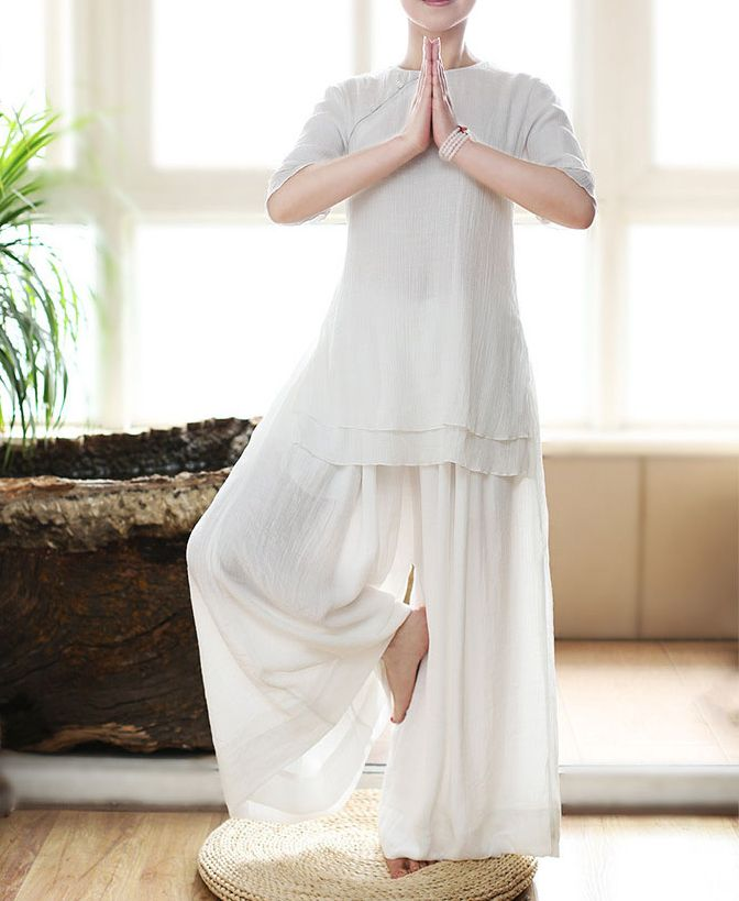 Zomer Vrouwen Katoen & Linnen Tai Chi Pakken Wushu Kung Fu Uniformen Zen Lay Meditatie Taiji Yoga Kleding Kleuren Zijn Opvallend