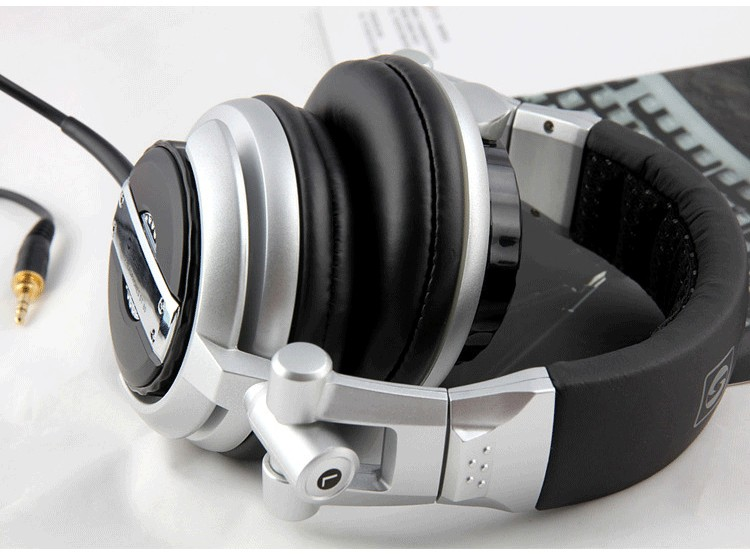Foldable Professional Monitor Music Hifi Headphones Somic ST-80 Super Bass Noise-Isolating DJ Headset Without Mic Stereo Earphones(15)