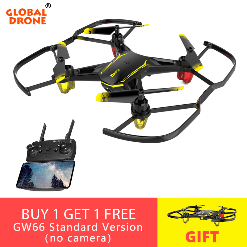 US $24 55 37% OFF Global Drone GW66 Mini Quadrocopter RC Helicopter  Altitude Hold Toys for Kids FPV Drones for Beginner Micro Dron with  Camera-in RC